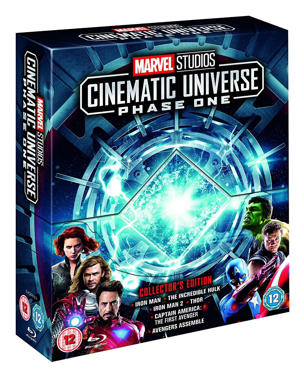 Marvel Studios Cinematic Collection Phase 1