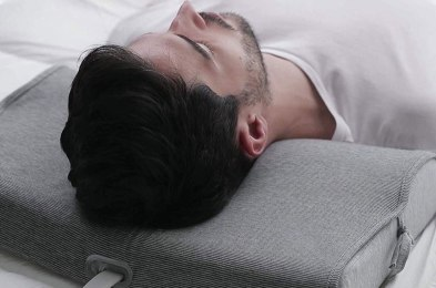 is snoring keeping you up at night? you could be using the wrong pillow
