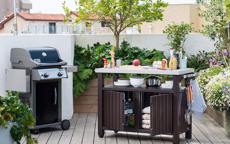 Barbecue Prep Table