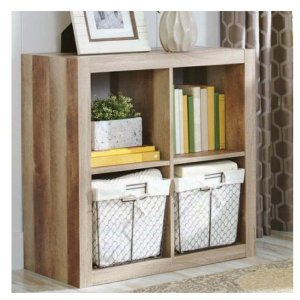 Better Homes and Gardens Bookshelf Square Storage Cabinet