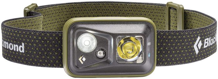 red Camping headlamp