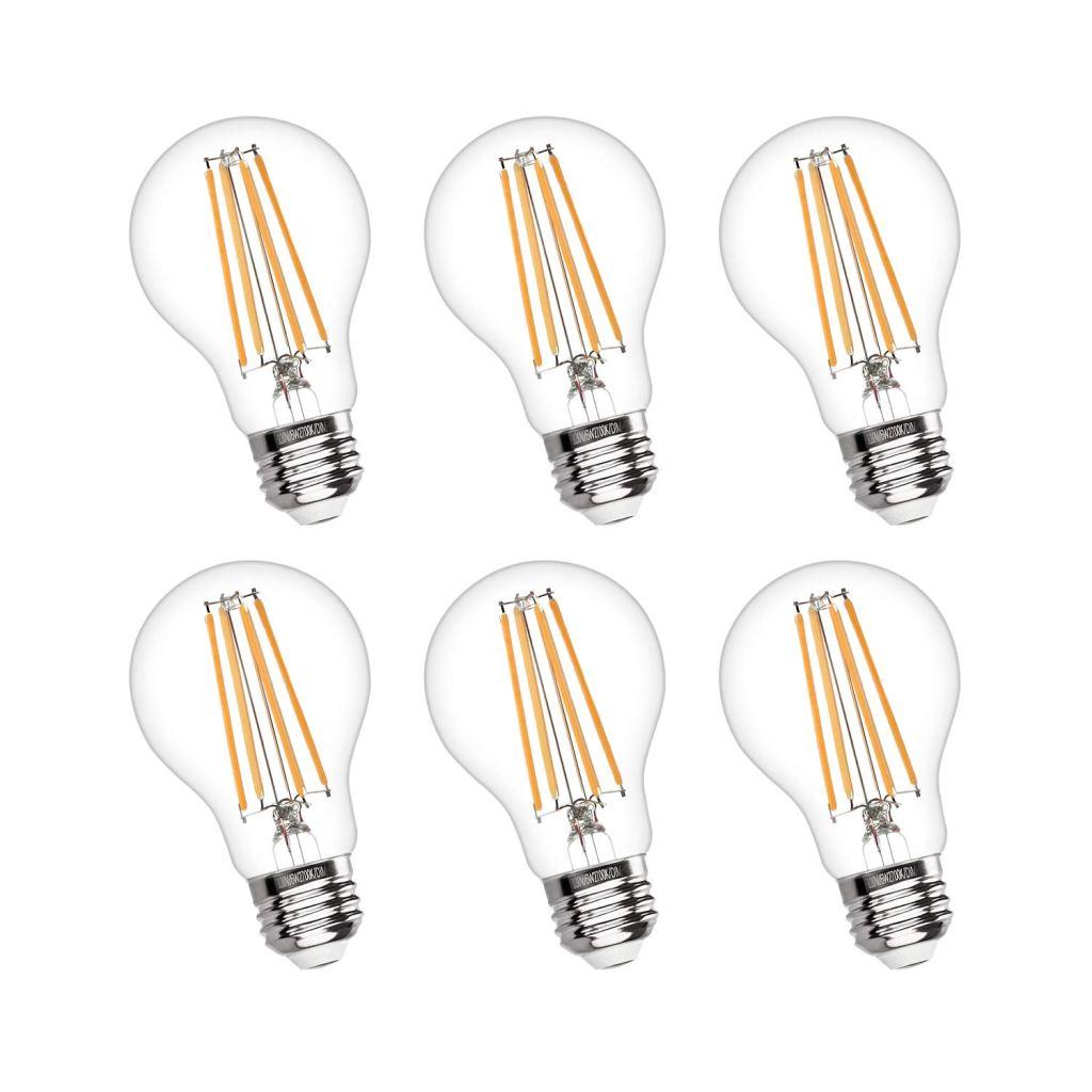 Boncoo Vintage LED Dimmable A19 Edison Light Bulbs