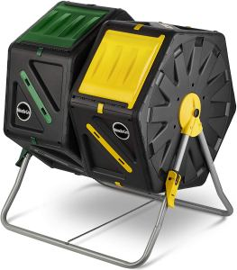 Miracle-Gro Dual Chamber Compost Tumbler, best composters