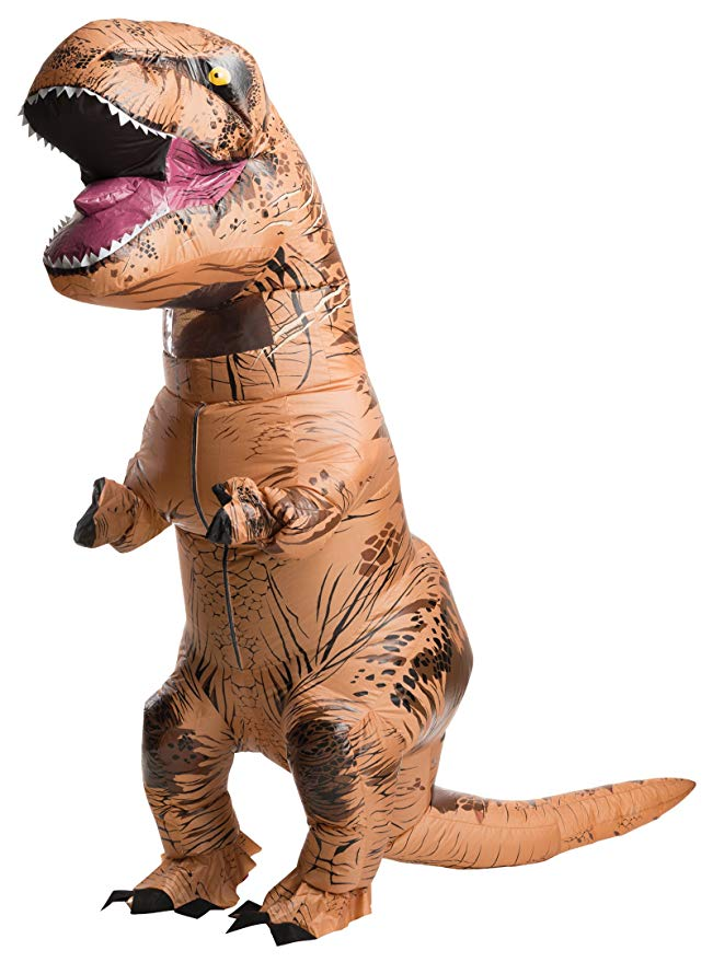 inflatable t-rex halloween costume