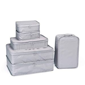 six jj power packing cubes in white