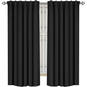 Utopia Bedding 2 Panels Blackout Curtains