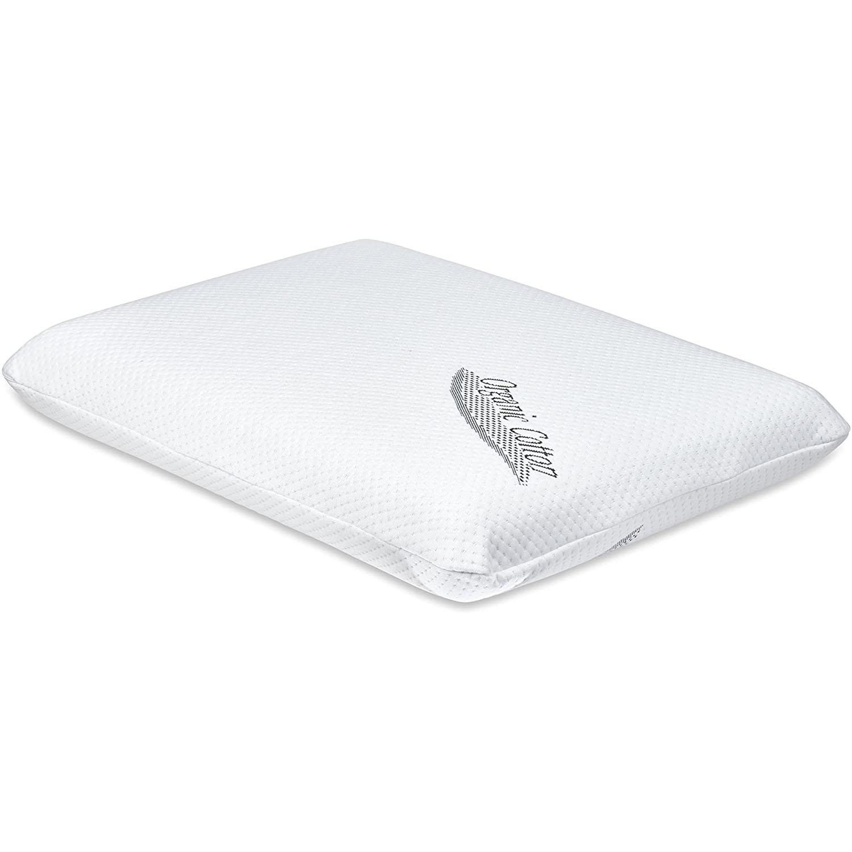 TruContour Thin Memory Foam Pillow