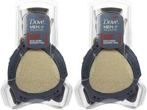 best loofah shower sponges dove men care shower