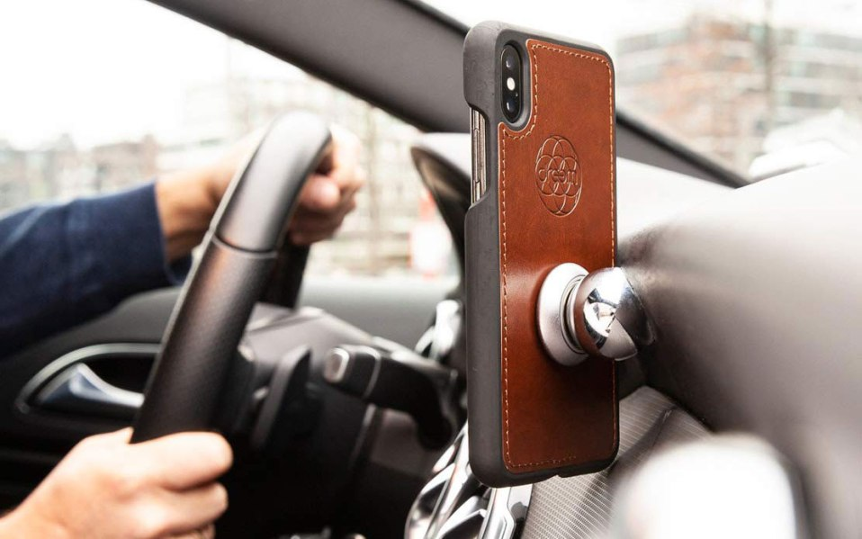 wallet phone case flip kickstand