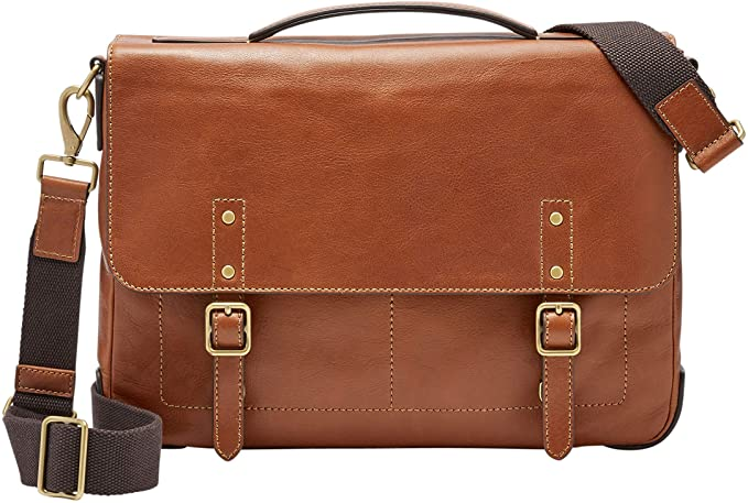 Fossil Messenger Brown Bag, messenger bag for men