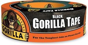 gorilla tape, hurricane emergency essentials kit