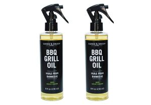 how to clean barbecue grill oil