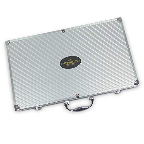 Grill set aluminum case