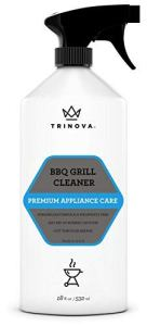 how to clean barbecue grill spray