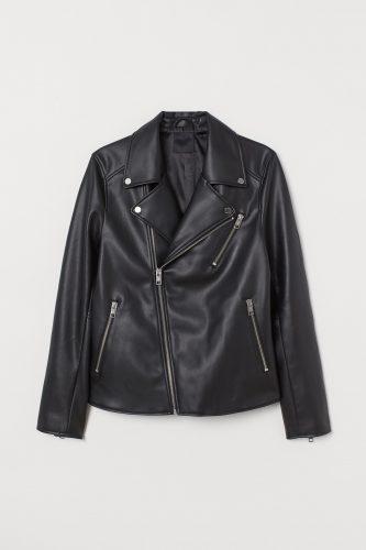 H&M Biker Leather Jacket