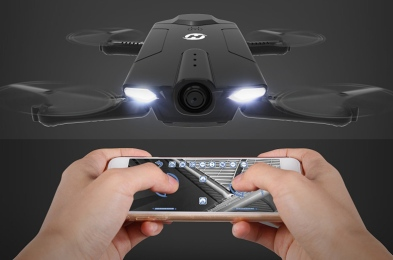 Holy-Stone-HS160-Shadow-Foldable-RC-Camera-Drone-BGR