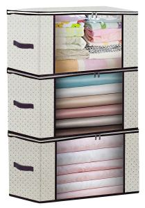 Homyfort Clothes And Blankets Storage Bag