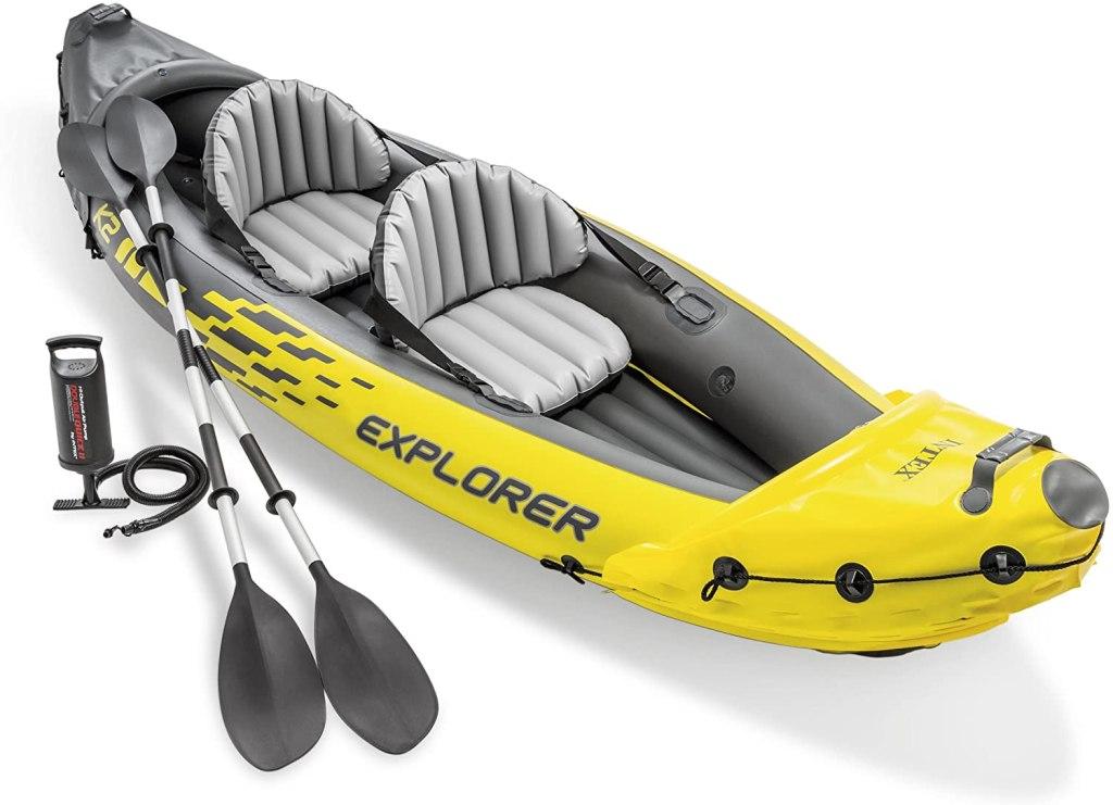 Intex Explorer K2 Kayak, inflatable kayak, best inflatable kayak