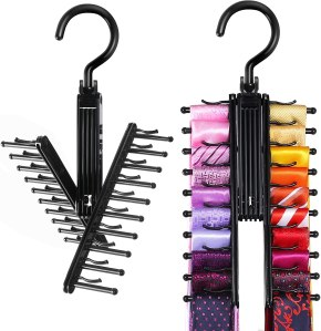 IPOW Tie Rack Holder