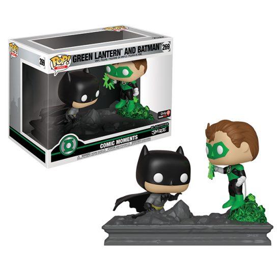 4. Funko POP! Green Lantern Batman Meet Up