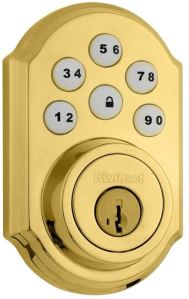 kwikset electronic door lock