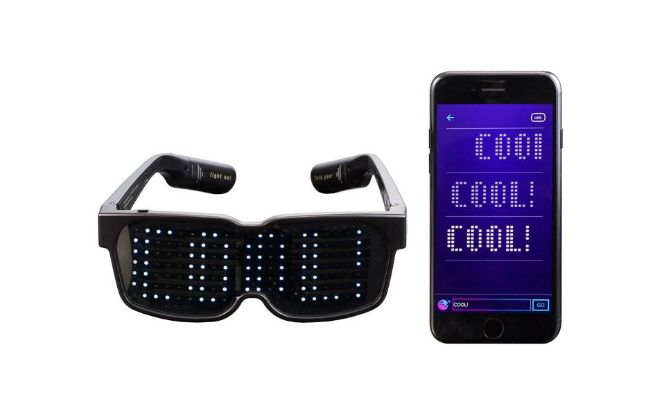 LED Glasses for Raves, Music Festivals