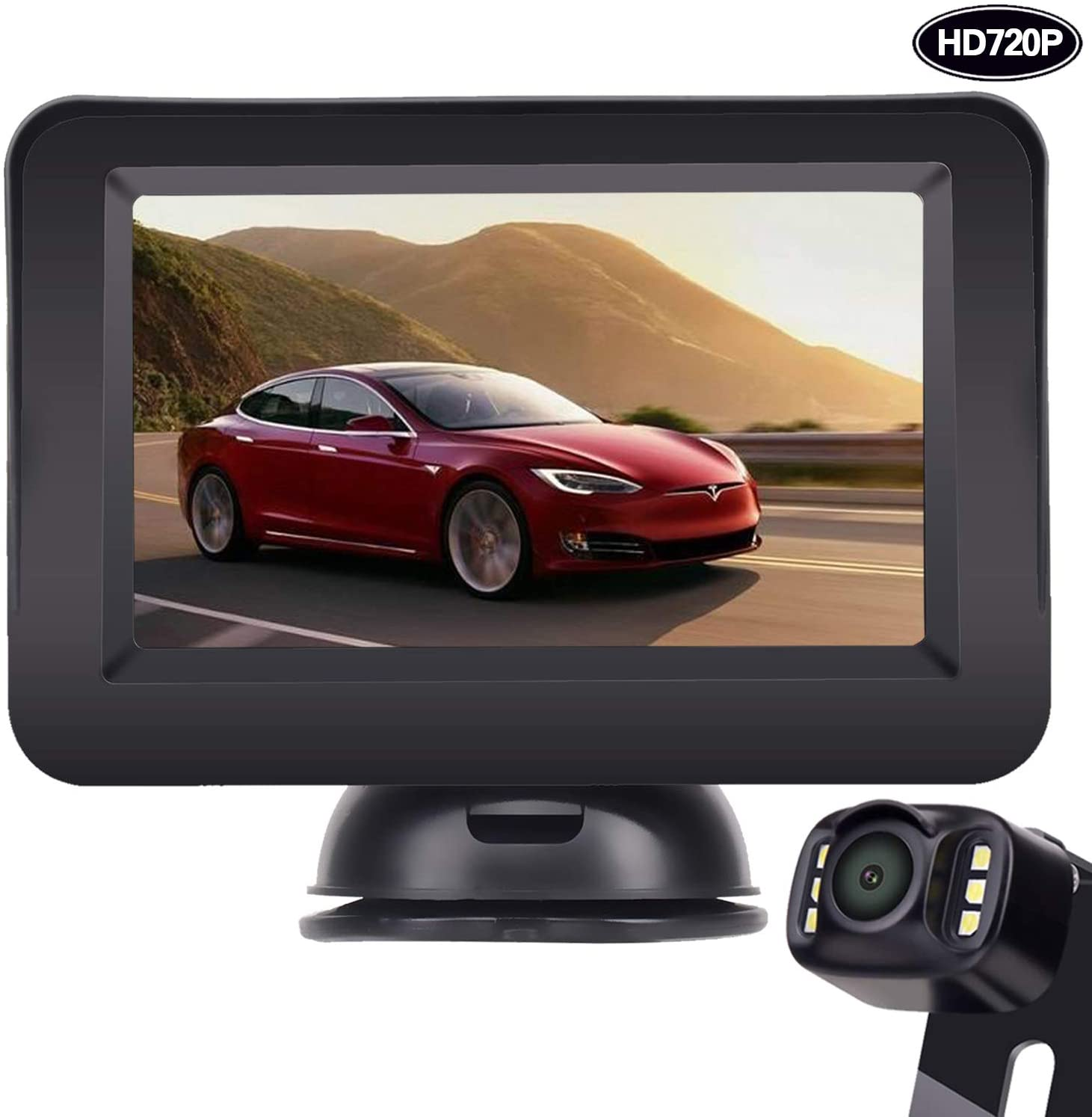 LeeKooLuu HD 720P Backup Camera and Monitor Kit