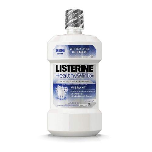 Listerine Healthy White Mouthwash