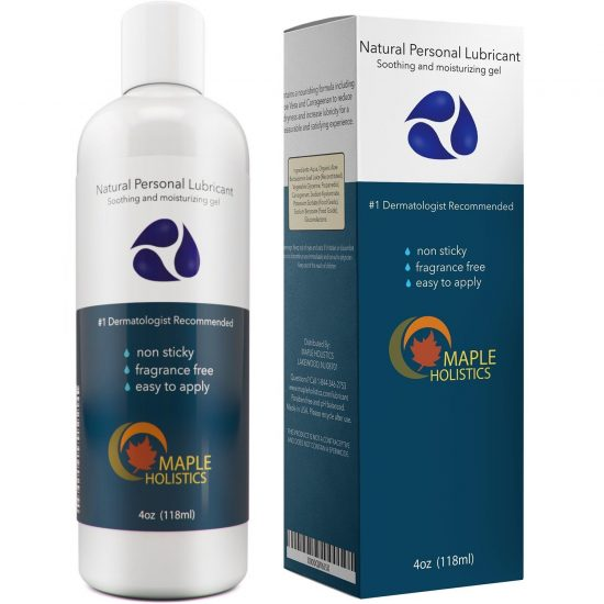maple holistic personal lube