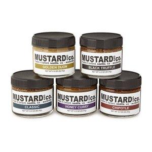 mustard sampler set, gifts for foodie dads