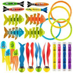 Prextex 24 Piece Diving Toy Set
