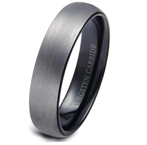 Tungsten Brushed Band