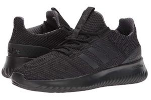 Black Workout Shoes running Adidas