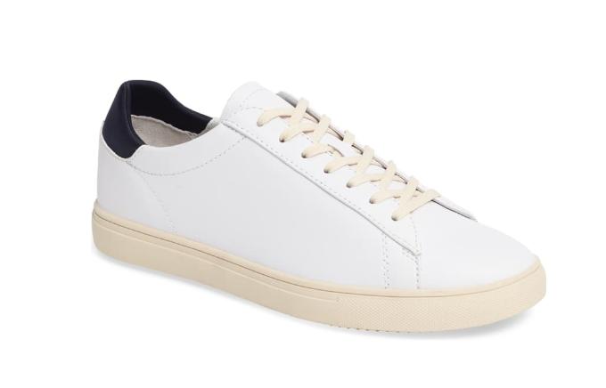 white sneakers clae