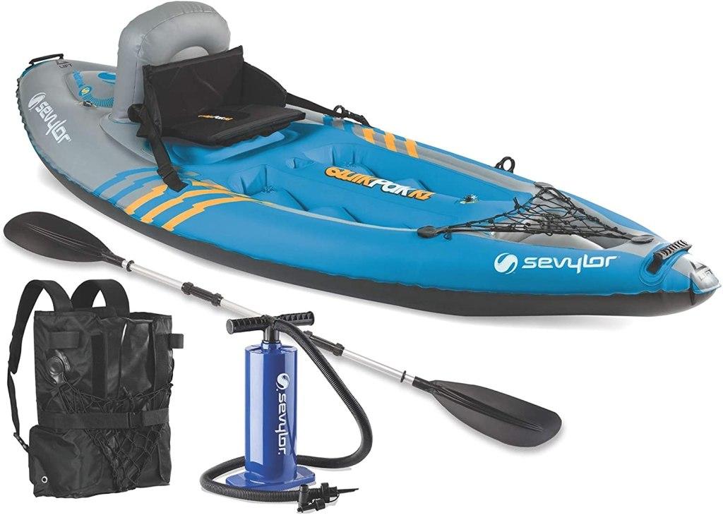 kayakSevylor Quikpak K1 1-Person Kayak
