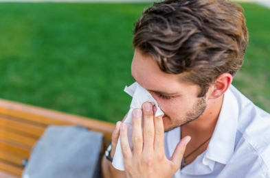 essential oils work to help alleviate allergy symptoms