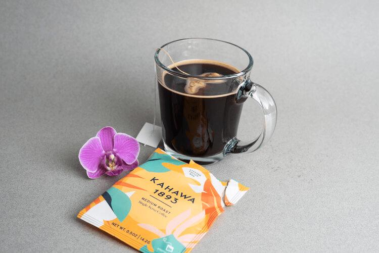 single serve coffee pack