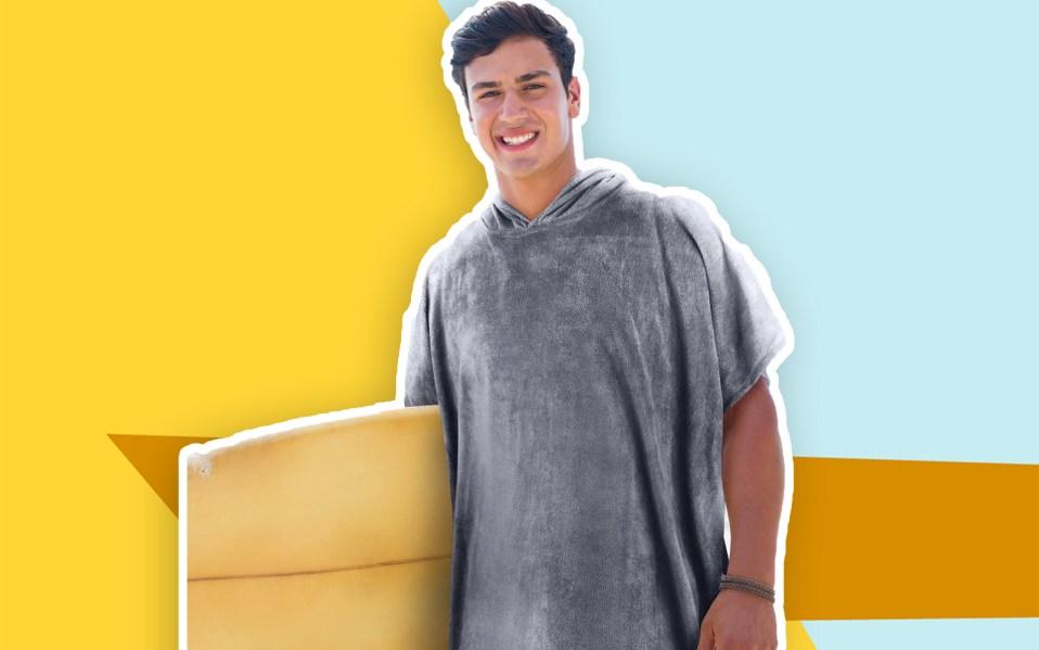 surf poncho