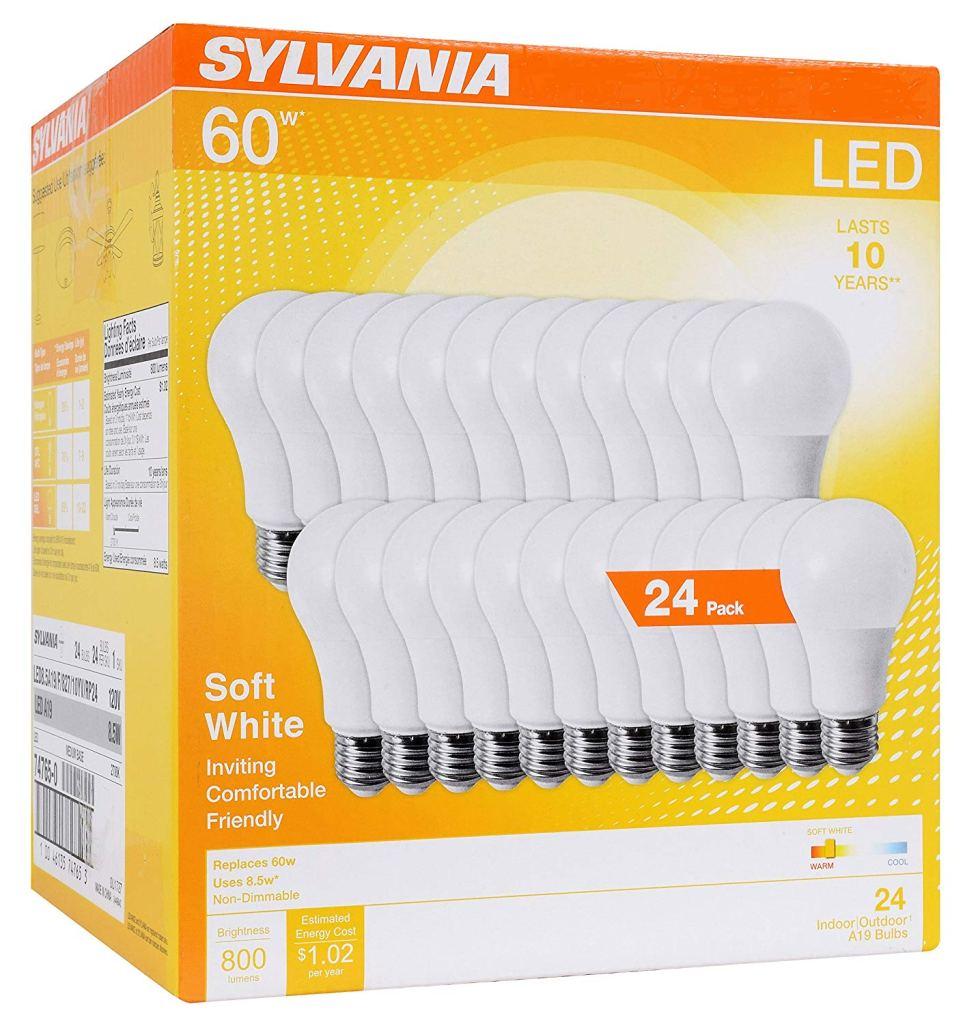 Sylvania Home Lighting Soft White LED Light Bulbs