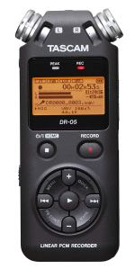 Tascam Digital Voice Recorder