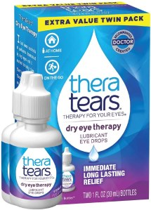 theratears eye drops, best eye drops for contact lenses
