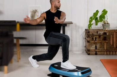 if you thought your workout was effective, wait until you try it on a vibration plate