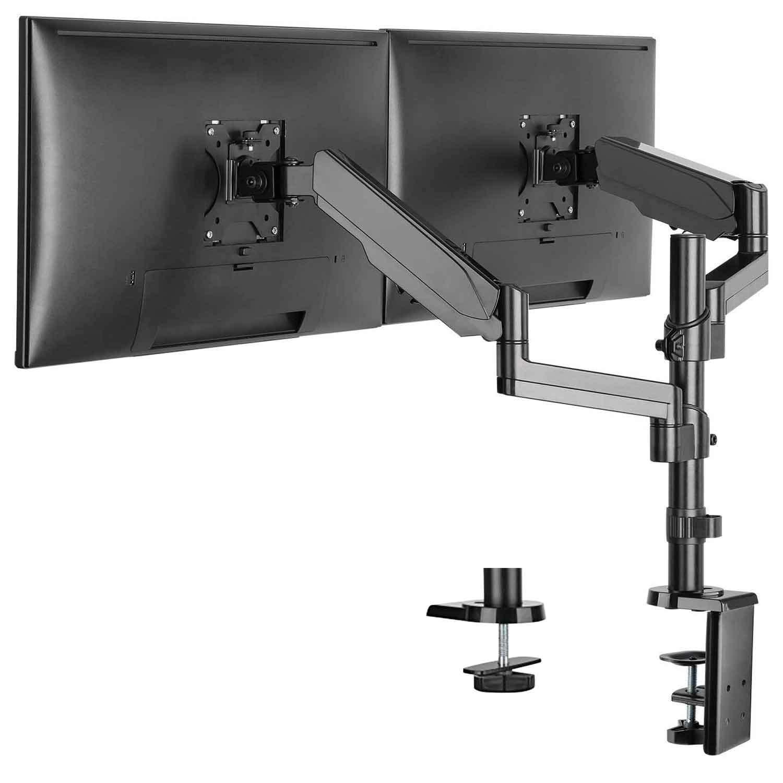 desktop dual monitor stand