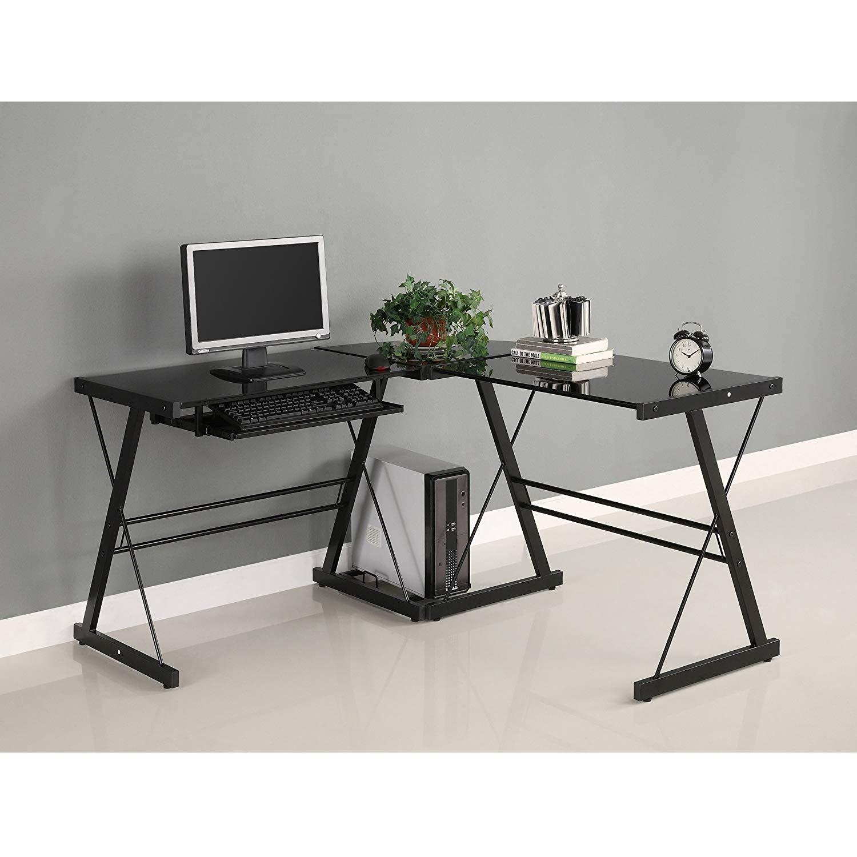 Walker Edison Soreno Modern 3-Piece Corner Desk