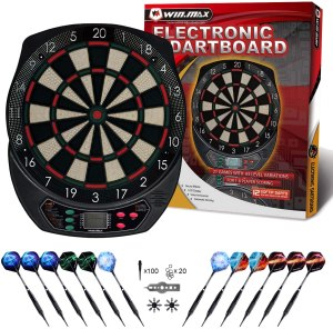 electronic dart boards win max