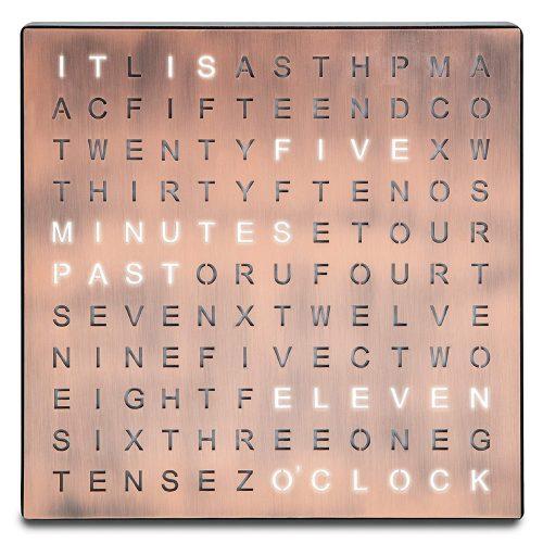 word clock sharper image