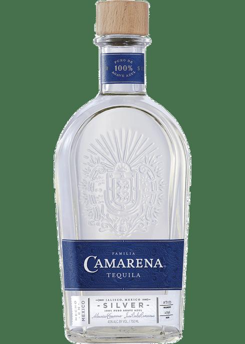 best tequilas - camarena silver tequila