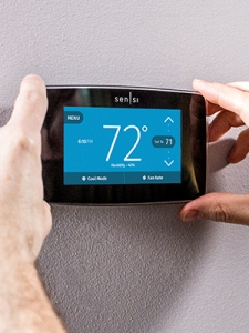 Emerson Sensi Touch Smart Thermostat Touchscreen