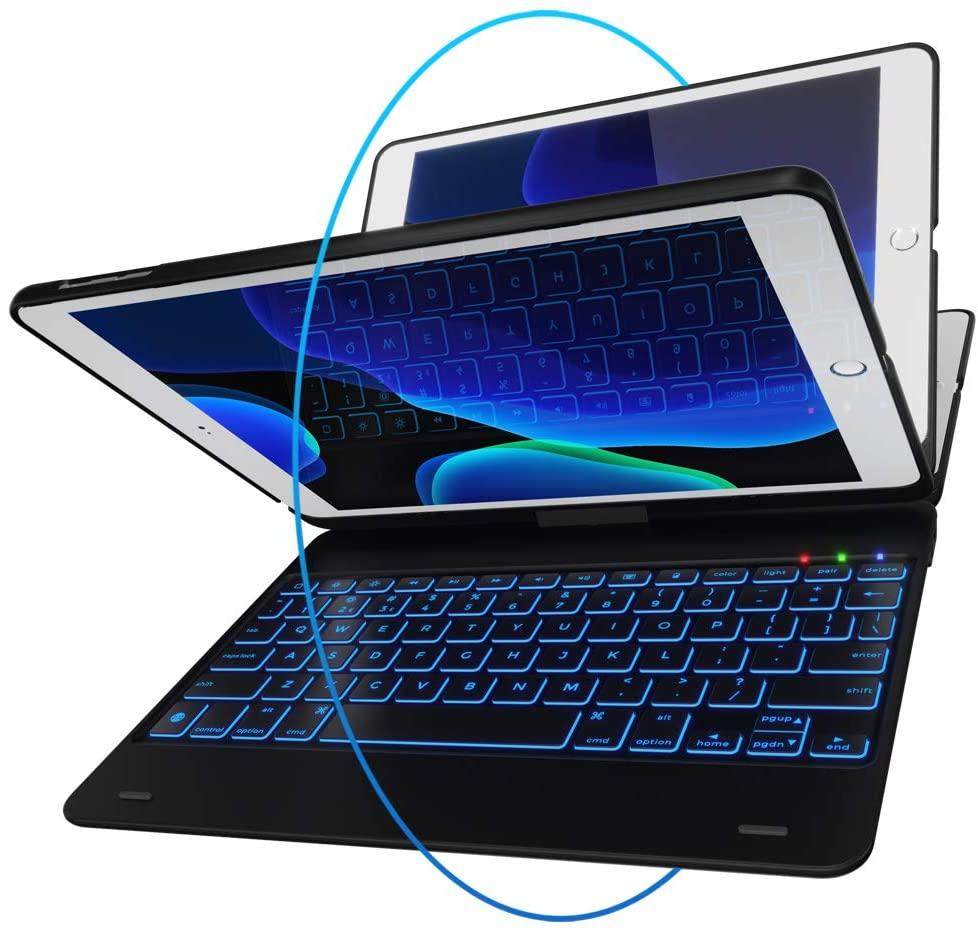 best ipad cases - YEKBEE iPad Keyboard Case for iPad