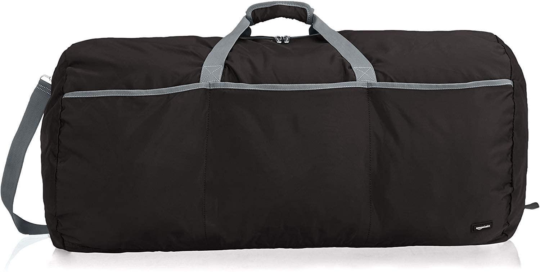 Black duffel bag amazon basics
